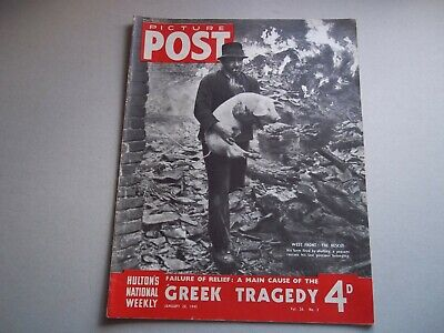 Picture Post Magazine 20 January 1945 Hemingway , Greek Tragedy • 6.50£