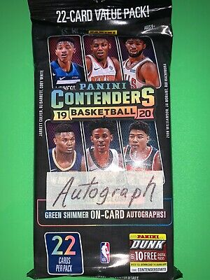 $1.25 • Buy AUTOGRAPH  2019-20 CONTENDERS Basketball HOT PACK  Zion Williamson ? Ja Morant ?