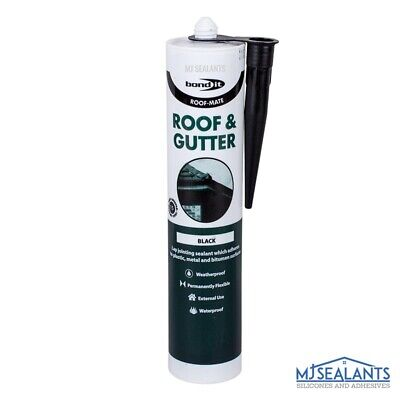 £4.79 • Buy Bond It  Roof-Mate High Quality Roof And Gutter Sealant In Black 310ml