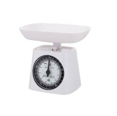 Kitchen Scale With Bowl 5kg White Traditional Scales By Hanson • 11.95£