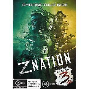 AU17.95 • Buy Z NATION - CHOOSE YOUR SIDE - SEASON 3  NEW 3 BLURAYs