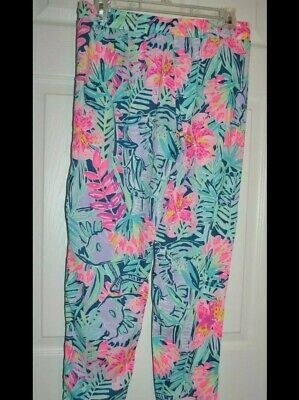 $12.50 • Buy SIZE SMALL Lilly Pulitzer Piper Cropped Pants Slathouse Soiree $118