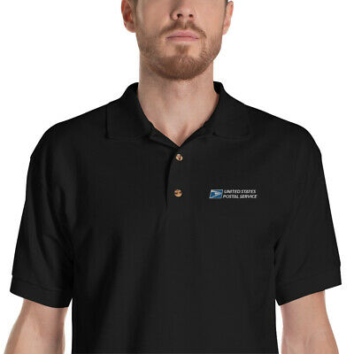 $29.99 • Buy USPS Post Office Mail Carrier Postal Worker Embroidered Polo Shirt