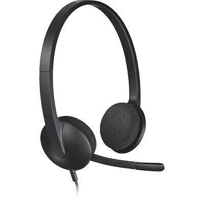 AU46.90 • Buy Logitech Wired USB Over-Ear Gaming Headset Headphone H340 With Mic