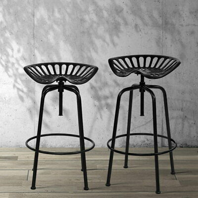 AU146.26 • Buy Artiss 1x Kitchen Bar Stools Tractor Stool Chairs Industrial Vintage Retro