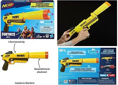 AU75 • Buy Fortnite SP-L Nerf Elite Blaster Ages 8+ Toy Gun Fire Play Fight Game Gift Set