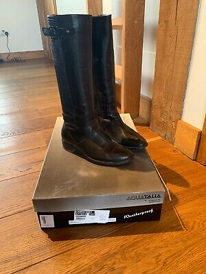 £59 • Buy Aquatalia Black Ladies Boots Size Uk5 1/2  Russell And Bromley