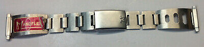 AU75 • Buy Stainless Steel Watch Band, 1970's Funky, Unworn, New Old Stock
