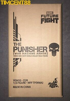 $465 • Buy Ready Hot Toys VGM33D28 Marvel Future Fight 1/6 The Punisher War Machine Armor