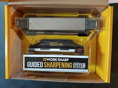 $68 • Buy Work Sharp WSGSS Guided Sharpening System, Knife Sharpener. With Accessory Kit!