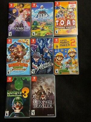 $270 • Buy Nintendo Switch Games Lot
