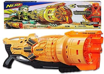 AU149 • Buy Nerf Doomlands The Judge Ages 8+ Toy Gun Blaster Fire Play Fight Darts Drum Gift