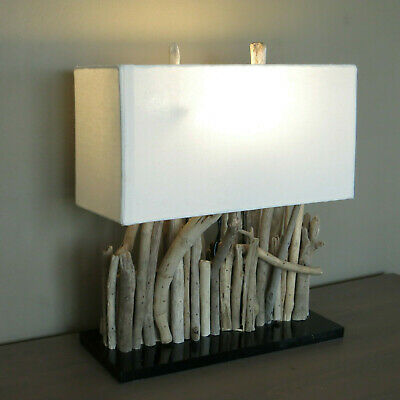 £44.02 • Buy Table Desk Lamp,Table Lamp, Driftwood, Wood, Handmade, Approx. 35x40x16