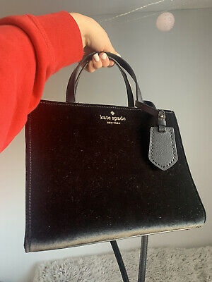 $ CDN380 • Buy Kate Spade New York Thompson Street Velvet Purse NEW WITH TAGS