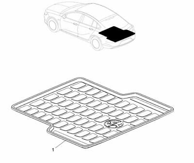 AU220 • Buy Genuine Holden New ZB Commodore Liftback Luggage Compartment Liner For FWD