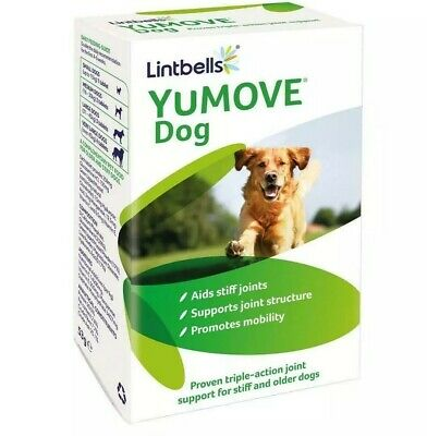 Lintbells YuMOVE Dog Joint Supplement For Stiff Dogs 60 Tablets FREE P+P • 14.99£