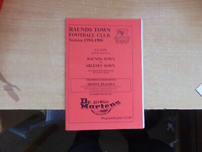 FA Vase Semi Final 1994/5 Raunds Town V Arlesey Town • 1.99£