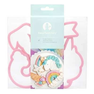 AU14 • Buy NEW American Crafts Sweet Tooth Fairy Unicorn Cookie Cutter Set By Spotlight
