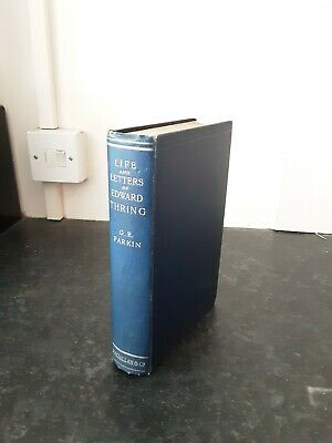 1900 Edward Thring:Headmaster Of Uppingham School By G.Parkin-LIFE DIARY LETTERS • 11.99£