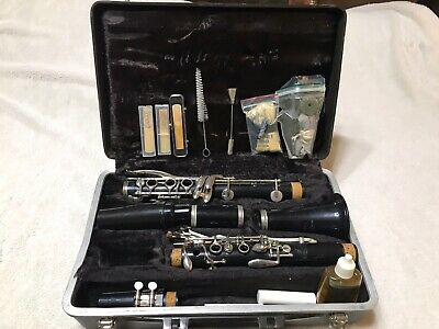 $29.99 • Buy Vintage Bundy Selmer Resonite Clarinet With Hard Carry Case #1185732
