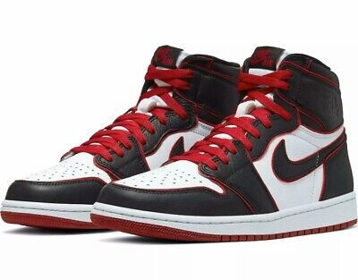 $145.99 • Buy 2019 Air Jordan 1 Retro High Og Bloodline Black/gym Red-white 555088-062