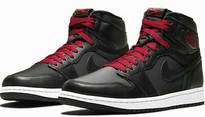 $92.50 • Buy Nike Air Jordan 1 Retro High OG 555088-060 'Black Satin' Gym Red/Black Sz 8.5-13