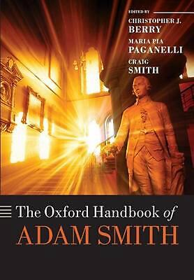 AU60.55 • Buy Oxford Handbook Of Adam Smith By Christopher Berry (English) Paperback Book Free