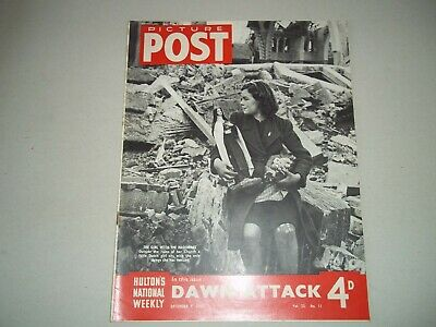 Picture Post Magazine 9 December 1944  Moura Lympany , Dawn Attack In Holland • 6.50£