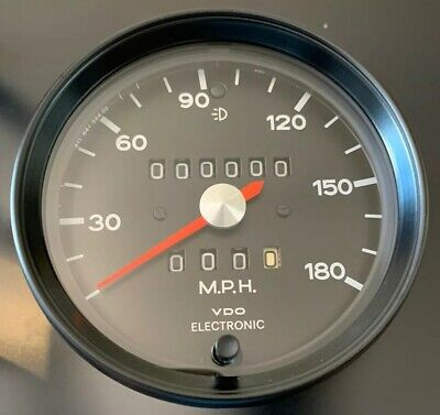 $699 • Buy Porsche 911 930 Backdated Electronic Speedometer 180 Mph