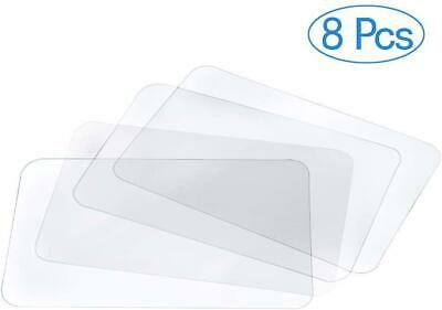 AU21.37 • Buy BESSEEK Translucent Placemat Washable Table Mats For Dining Table Heat Resistant