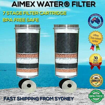 AU59 • Buy 7 Stage Water Filter Cartridge Replacement Ceramic Mineral Purifier Aimex Water