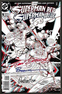 £19.95 • Buy Superman Red / Superman Blue #1 3D Cover Dynamic Forces Signed Edition With Cert