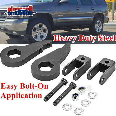 $36.69 • Buy Front 3'' Leveling Lift Kit + Shock Extender For Chevy Silverado GMC Sierra 1500