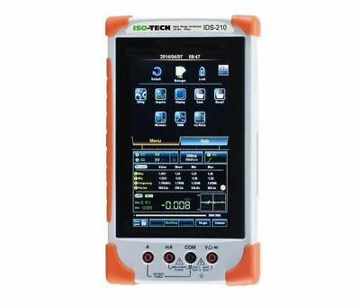 IDS-210 ISO-TECH Handheld Oscilloscope Digital Storage 2 Channels 100MHz • 599.99£
