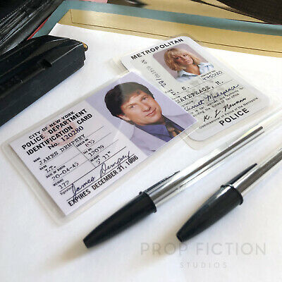 Dempsey & Makepeace - Prop  Police Detective Warrants / Wallet Cosplay ID Cards • 7.95£