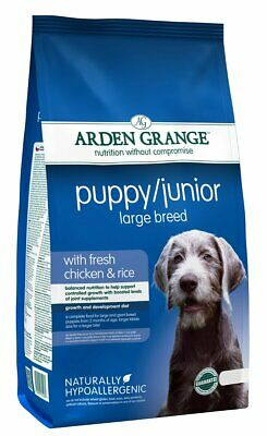 Arden Grange Large Breed With Fresh Chicken & Rice Puppy Food | Dogs • 13.13£