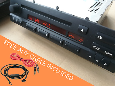 $149 • Buy BMW 3 Series M3 E46 OEM Business CD Player Radio Head Unit AUX Cable Included