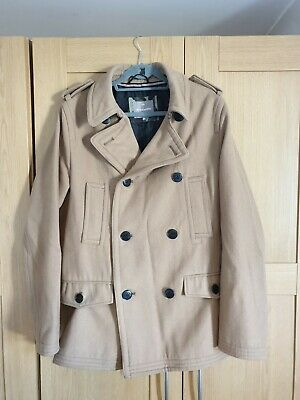 $41.25 • Buy Peter Werth Camel Double Breasted Peacoat XXL