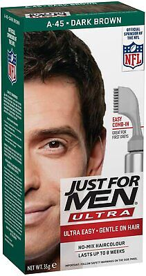 £13 • Buy Just For Men Autostop/Ultra Hair Color Dark Brown A45