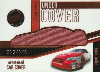 $13.99 • Buy Nascar 2006 Eclipse Press Pass Racing Kasey Kahne Race Used Car Cover Relic UCT5