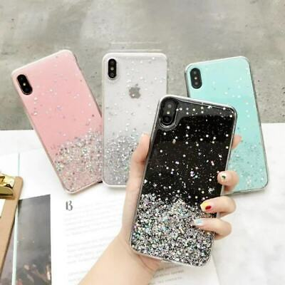 AU6.99 • Buy For OPPO R15 R17 RENO 2Z AX7 A5 Bling Glitter Clear Soft Rubber TPU Case Cover
