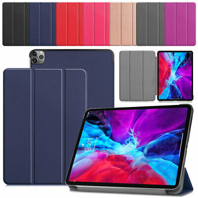 AU33.49 • Buy For Apple IPad Pro 12.9  2020 4th Gen Magnetic Smart Cover PU Leather Stand Case