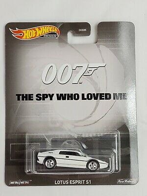 $ CDN19.80 • Buy Hot Wheels Premium Lotus Esprit S1 007 The Spy Who Loved Me Real Riders Diecast