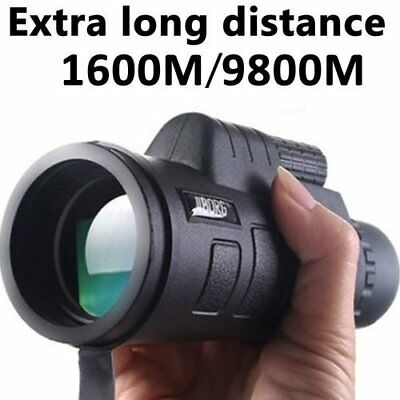 Super High Power 40X60 Portable Night Vision Telescope Monocular Binoculars HD • 10.99£