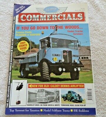 £3.69 • Buy HERITAGE COMMERCIALS MAGAZINE MARCH 2004 No171 LORRIES COACHES BUSSES LEYLAND