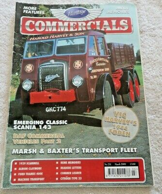 £3.69 • Buy HERITAGE COMMERCIALS MAGAZINE MARCH 2009 No231 LORRIES COACHES BUSSES SCAMMELL