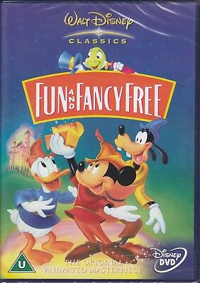 Fun And Fancy Free - Disney's 9th Animated Classic New & Sealed UK Disney R2 DVD • 15.99£