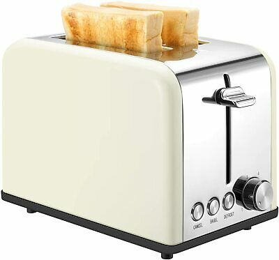 $32.95 • Buy KEEMO Toaster 2 Slice, Retro Small Toaster With Bagel, Cancel, Defrost Function