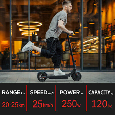 AU428.98 • Buy 250W Ultra-Lightweight 36V Electric Folding Scooter Fast Charge Easy Carry