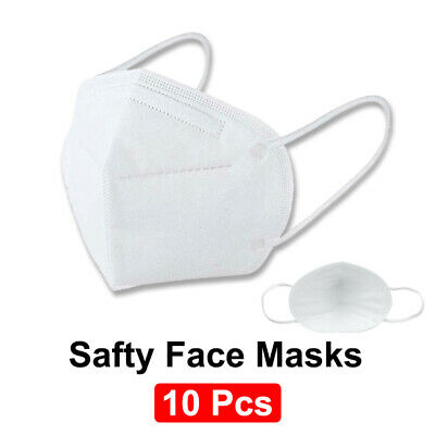 AU28.99 • Buy 10PCS KN95 Safty Face Masks Protection Mouth Dust Respirator Sydney Stock